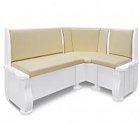 Угловой диван Шале Розенлау правый (белый, слоновая кость)