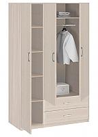 Шкаф 3-х дверный с ящиками Боровичи Лотос АРТ-8.031