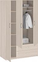 Шкаф 3-х дверный с ящиками 1510 Боровичи Лотос АРТ-8.032