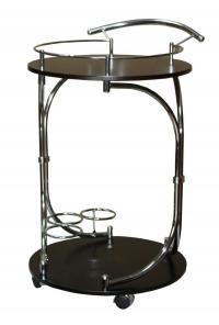 Сервировочный столик Red and Black SC-5088-WD
