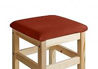 Чехол на квадратный табурет с подушкой Медежда Бирмингем