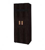Шкаф для одежды 2 Глазов Hyper (фасад венге)