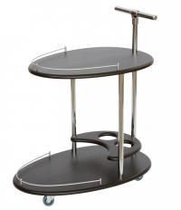 Стол сервировочный Мебелик Фуршет венге