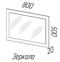 Зеркало Эра Ника (З500)