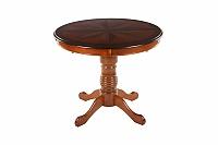 Стол МИК Мебель Verona VR T4EX2 n0003410, цвет Вишня, длина 90 см., ширина 90 см., MK 1219 MB