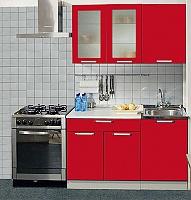 Кухонный гарнитур Трапеза 1300 мм  (II категория)