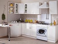 Кухонный гарнитур Трапеза 1200х2100 мм  (II категория)