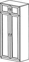 Шкаф ГРОС серии Алена ПМ 2 (рамка)