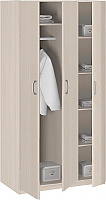 Шкаф 3-х дверный без зеркала серии Лотос АРТ-8.03