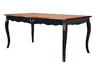 Стол обеденный раскладной Belveder Saphir Noir, ST9137LN