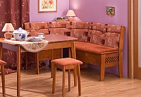 Кухонный уголок Боровичи Этюд 3-1 с решеткой и с ящиком