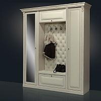 Прихожая Благо Б 5.1-2 (с одной зеркальной дверью) карамель