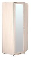 Шкаф угловой Ника-Люкс для одежды с зеркалом АРТ 30р