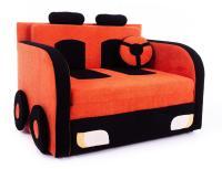 Диван Малина Машинка с подушкой руль