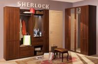 Прихожая Глазов Sherlock Компоновка 1 (орех шоколад)