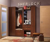 Прихожая Глазов Sherlock Компоновка 2 (орех шоколад)