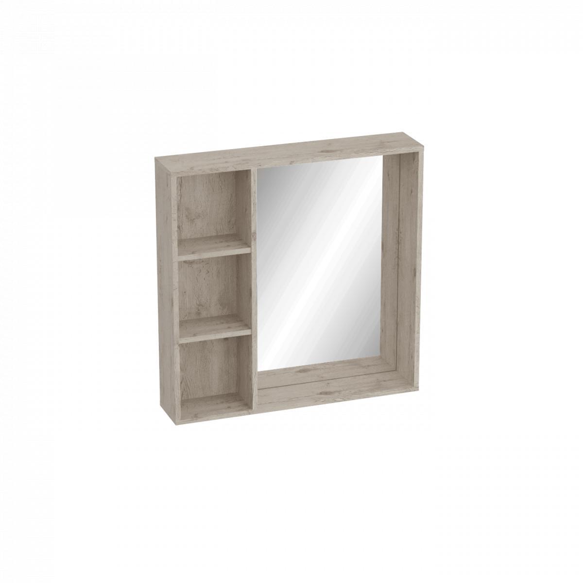 Полка МебельГрад Фан с зеркалом