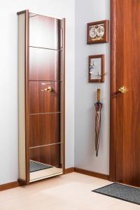 Шкаф обувной Айрон Элегант с зеркалом 5с