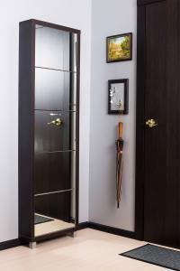 Шкаф обувной Айрон Люкс с зеркалом 5с