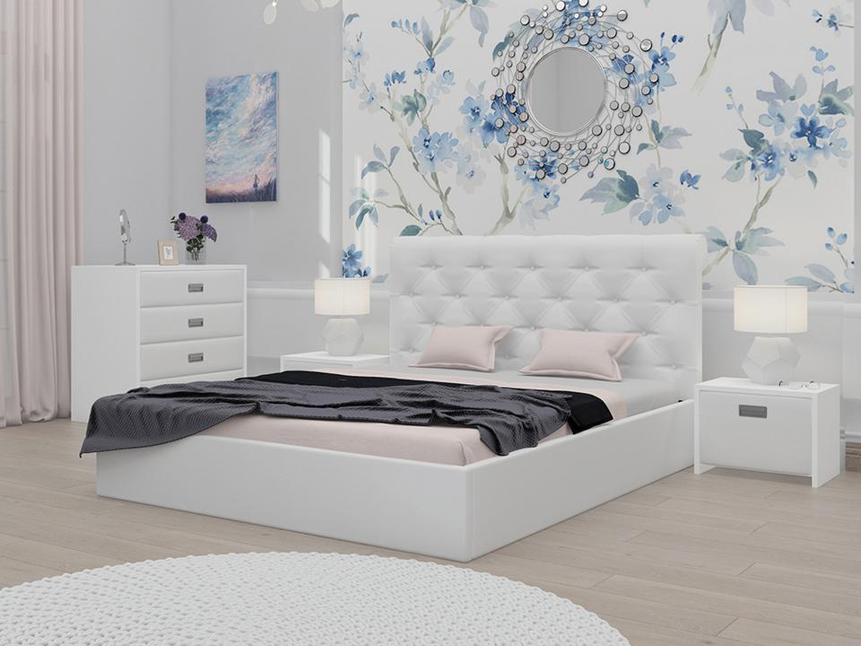 если дизайн спальни с белой кроватью фото продукция индии имеет