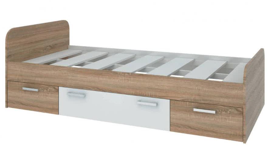 Кровать СтолЛайн Мика СТЛ.165.06 — купить недорого в mebHOME. Цены от производителя. Размеры и фото. Отзывы.