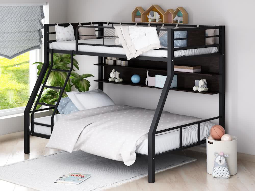 Двухъярусная кровать Формула мебели Гранада-1П — купить недорого в mebHOME. Цены от производителя. Размеры и фото. Отзывы. | Формула Мебели