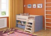 Кровать-чердак Легенда 6 (комплект мебели)