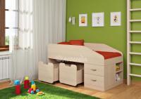 Кровать-чердак Легенда 8 (комплект мебели)