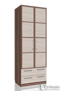 Шкаф для одежды с ящиками Сильва Рива 2 НМ 013.02-03