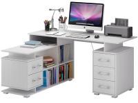 Компьютерный стол МФ Мастер Барди-3 угловой