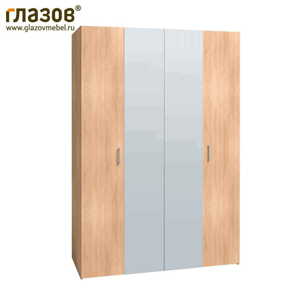 Шкаф-гармошка Глазов для одежды и белья 555 (Дуб Сонома)