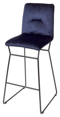 Барный стул М-City TEQUILA ткань PK-30 синий