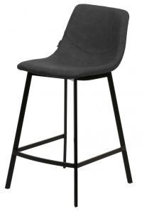 Барный стул HAMILTON RU-08 PU антрацит М-City