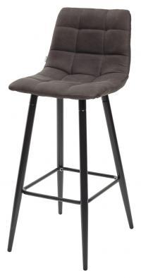 Барный стул SPICE PK-04 темно-серый, ткань микрофибра М-City