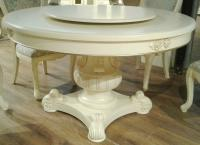 Стол обеденный МИК Милано MK-1894-IV Слоновая кость