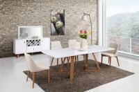 Стол обеденный МИК Мебель MK-5516-WT Белый
