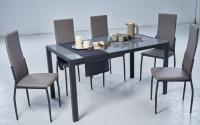 Стол обеденный МИК Мебель MK-7000-BL Черный