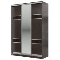 Шкаф-купе Мэри-Мебель Мэри Де-Люкс 1500 3-х дверный, цвет дуб венге/двери № 7
